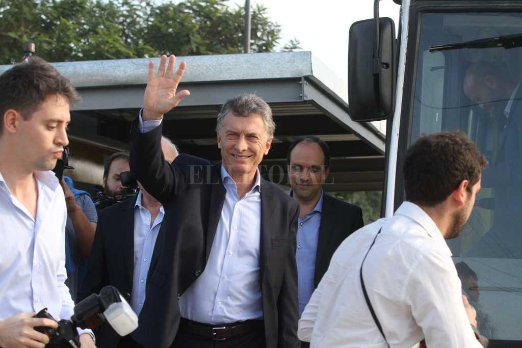 En Santa Fe, Macri volvió a pedir