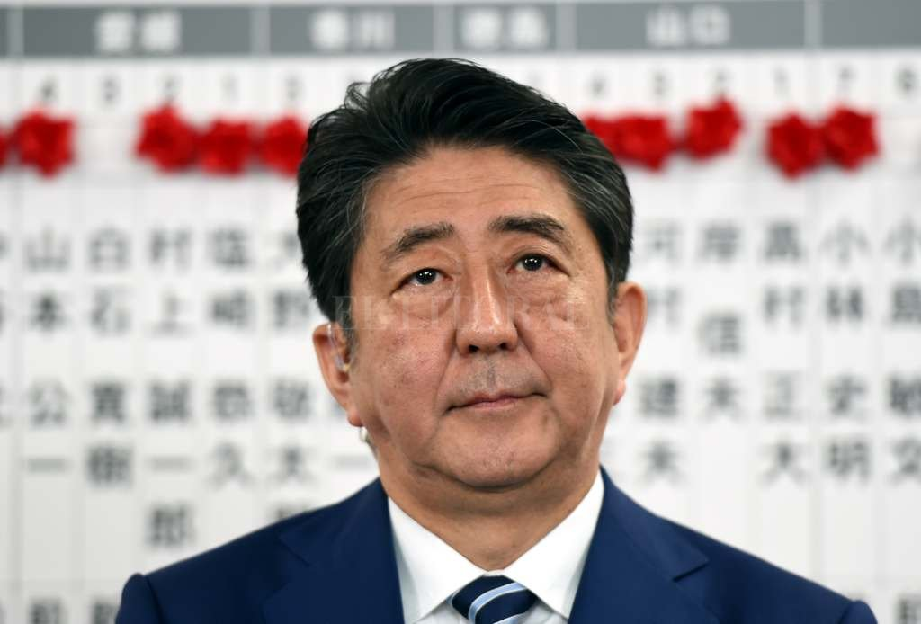 El Parlamento nipón reelige a Shinzo Abe como primer ministro