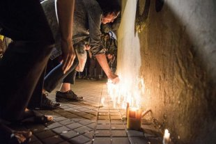 Homenaje a las víctimas del atentado en Nueva York