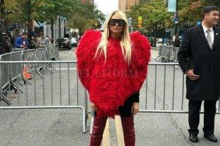 Repudio por la bizarra visita de Vicky Xipolitakis al lugar del atentado en Nueva York