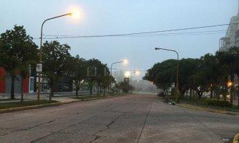 La niebla es protagonista este viernes en Santa Fe