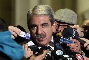 """Aníbal Fernández: """"Que los dirigentes de mi partido dejen de hacerse los pelotudos y pongan la cara"""""""