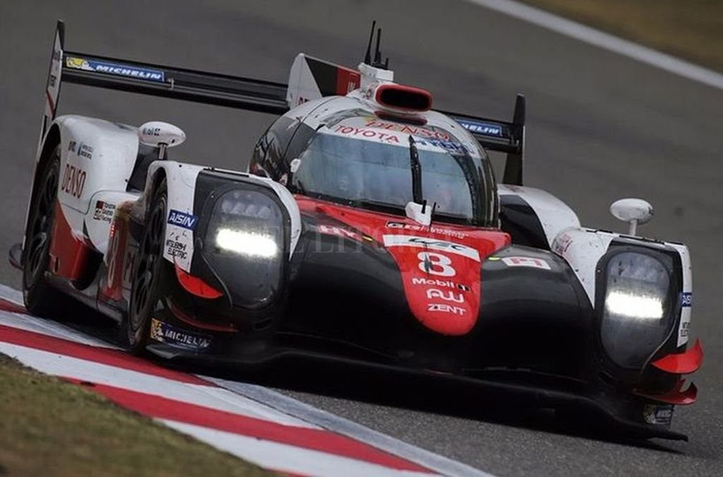 El Toyota 8 fue el vencedor de las 6 horas en Shanghai. Gentileza Prensa WEC