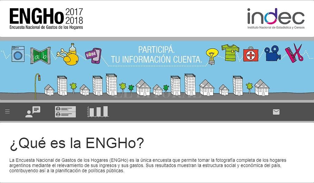 El INDEC analizará los gastos e ingresos de los hogares argentinos