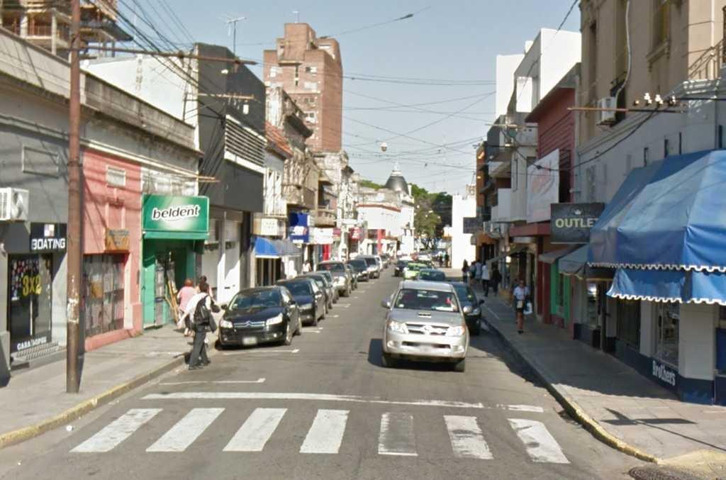 La zona donde se produjo el hecho  Crédito: Captura de Pantalla - Google Street View