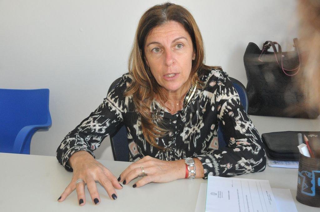 Analía Colombo, defensora de Niños, Niñas y Adolescentes. Crédito: Flavio Raina - Archivo
