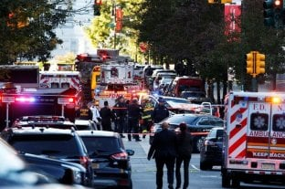 Dieron de alta al rosarino herido en el atentado en Nueva York