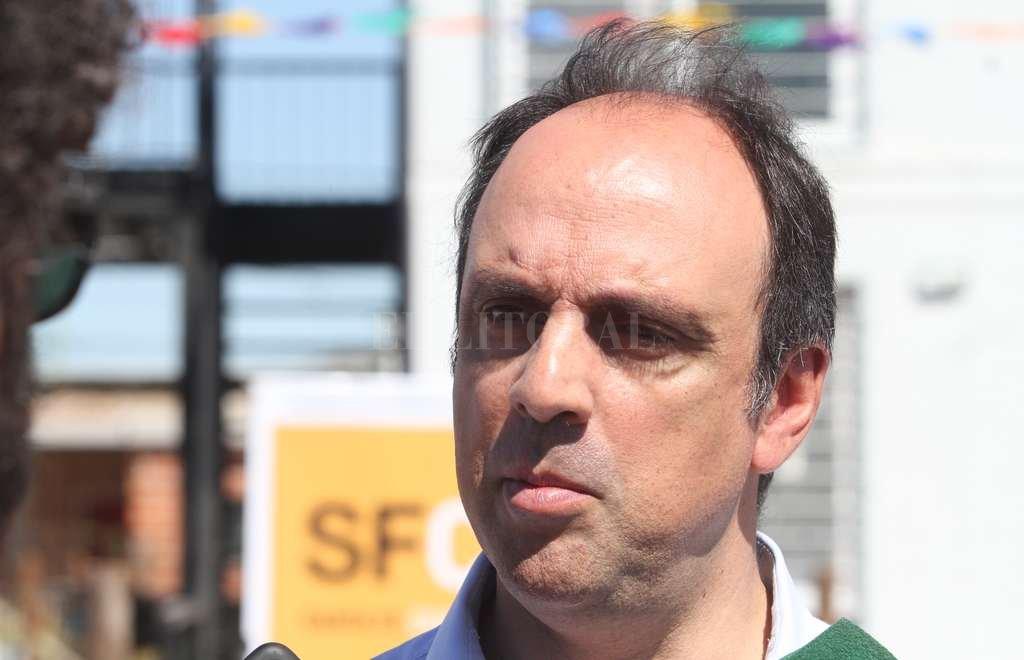 José Corral, intendente de la ciudad de Santa Fe. <strong>Foto:</strong> Mauricio Garín