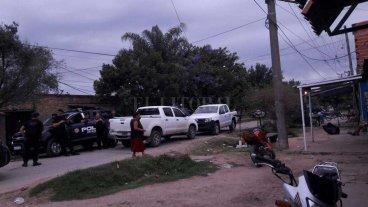 Detenidos en barrio Transporte  por comercio de droga