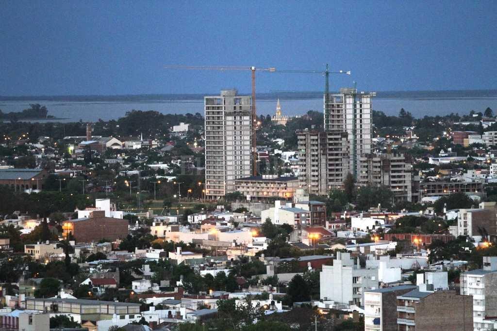 Las torres ProCreAr desde el cielo de Santa Fe Crédito: Mauricio Garín