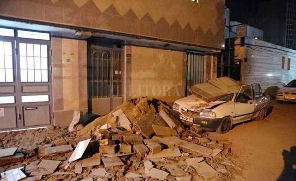 Son a menos 61 los muertos por el sismo en la frontera entre Irak e Irán