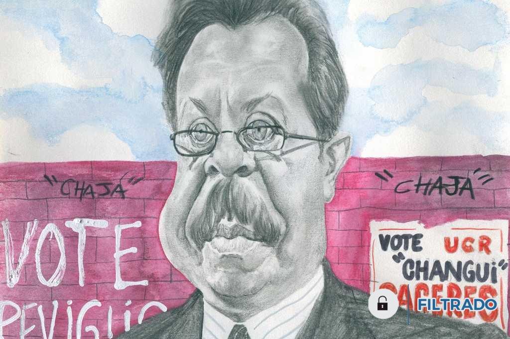 El ex gobernador Víctor Reviglio  <strong>Foto:</strong> Lucas Cejas