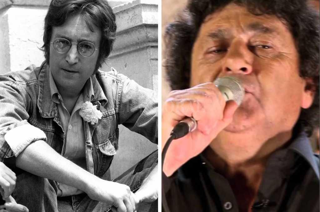 Furor por un video de John Lennon y Los Palmeras juntos