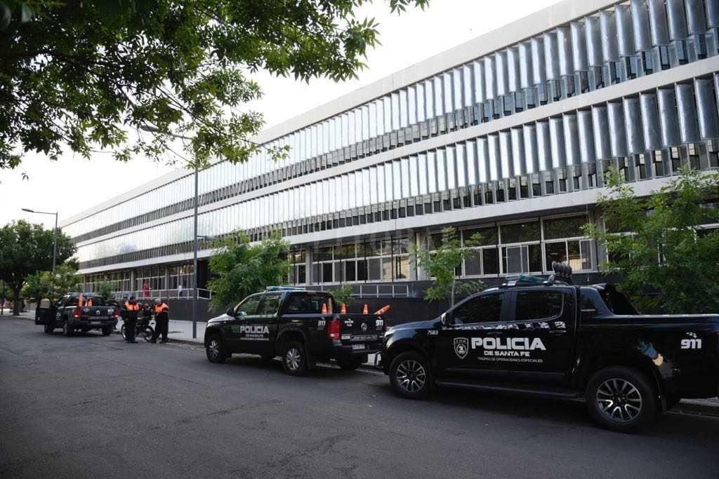 Centro de Justicia Penal (CJP) de Rosario. Crédito: Marcelo Manera