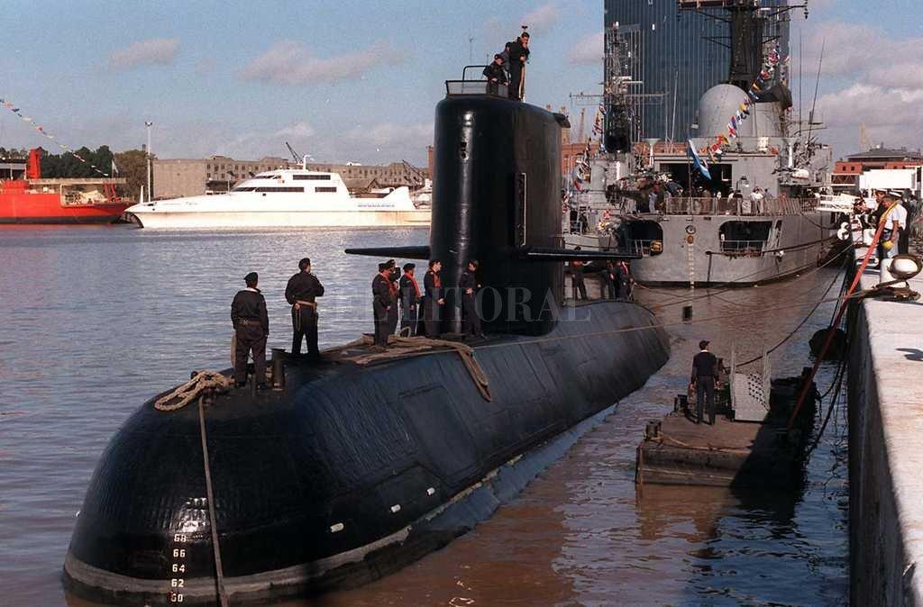 Sigue la búsqueda del submarino argentino <strong>Foto:</strong> Agencia DyN