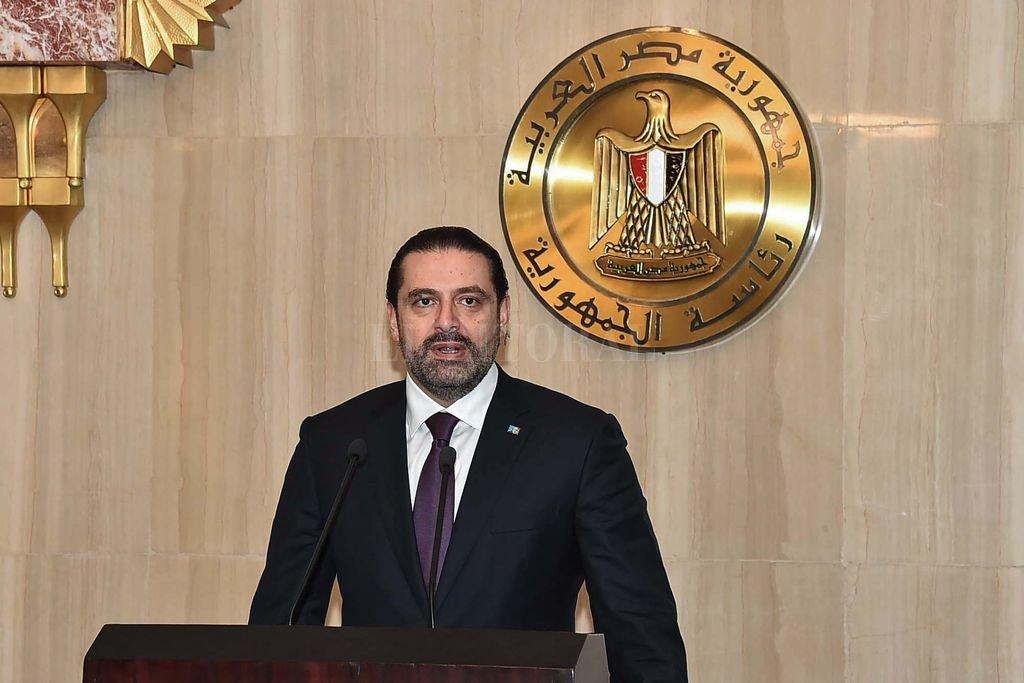 Primer ministro libanés regresó a Beirut después de anunciar su renuncia