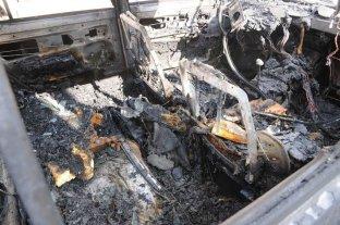 Quinto vehículo quemado en una semana