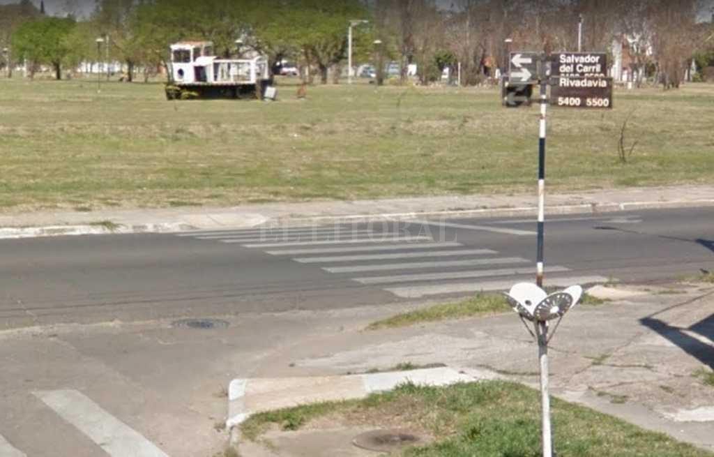 La zona donde se produjo el siniestro Crédito: Captura de Pantalla - Google Street View