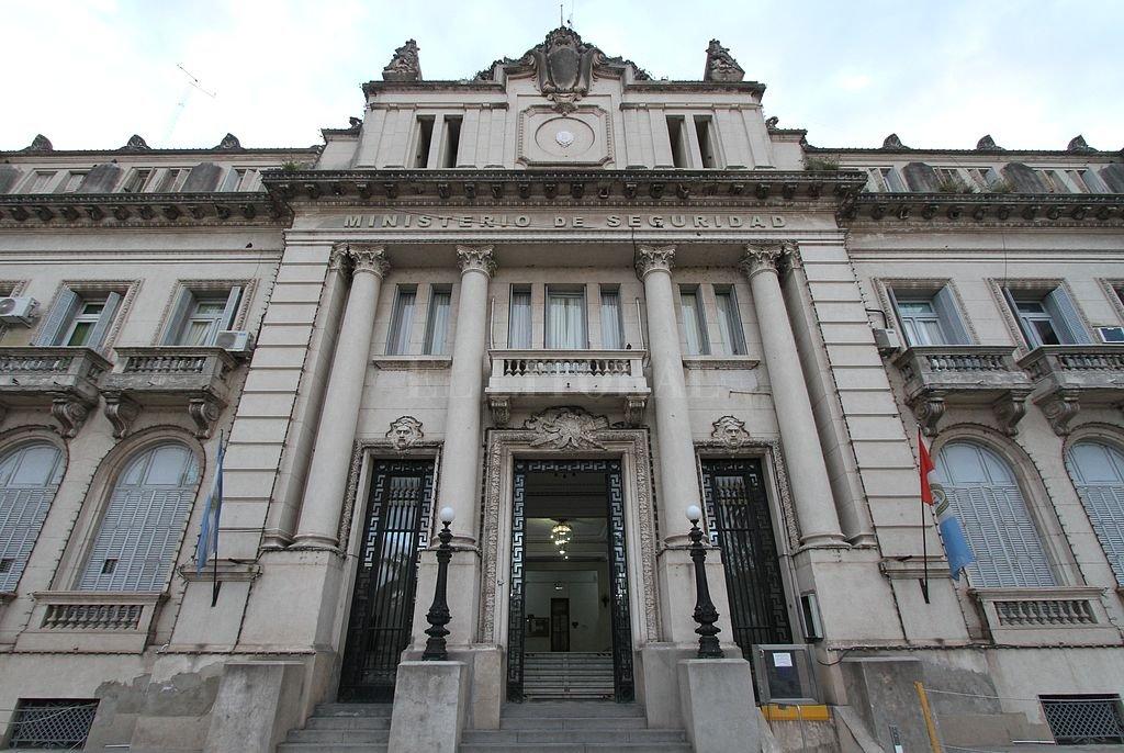 Ministerio de Seguridad de la provincia. Crédito: Manuel Fabatia