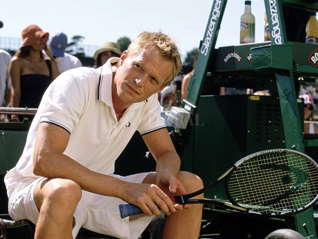 """Paul Bettany en """"Wimbledon"""" (2004). Working Title / Universal Pictures"""