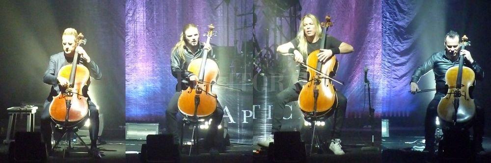 Formación reunida: Antero Manninen (miembro fundador retornado para la gira), Perttu Kivilaakso, Eicca Toppinen y Paavo Lötjönen; para la segunda parte se les sumó el baterista Mikko Sirén. IAA