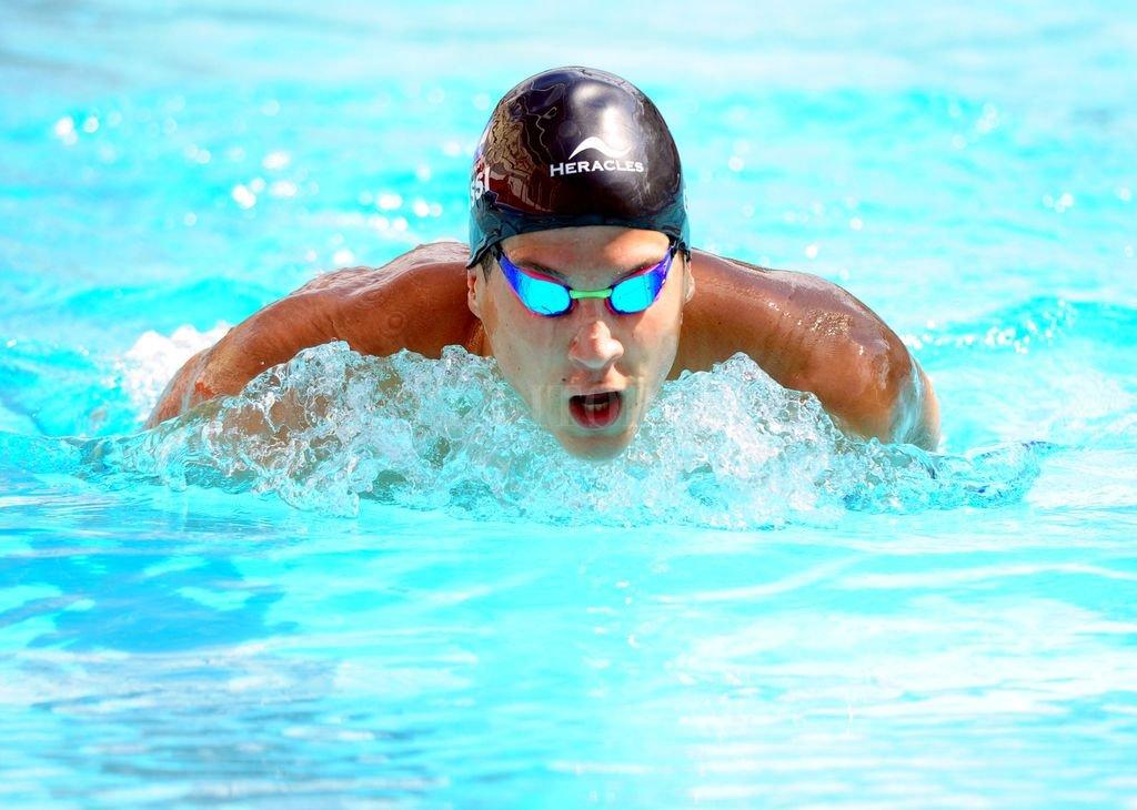 Nutrida agenda de fin de año. Tras competir este fin de semana en Estados Unidos, el nadador tatengue regresa a nuestro país para disputar el Campeonato Argentino.  Crédito:  En el Área