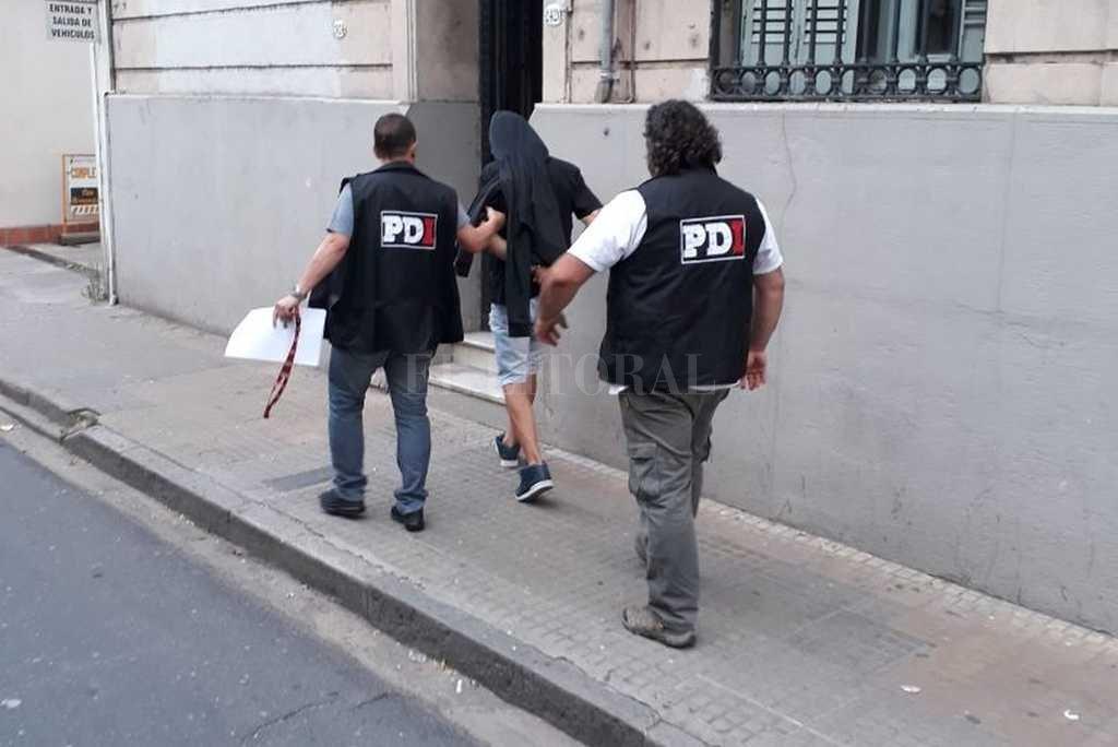El lunes se realizará la audiencia de medidas cautelares, en la que los fiscales solicitarán la prisión preventiva. Prensa Ministerio de Seguridad de Santa Fe