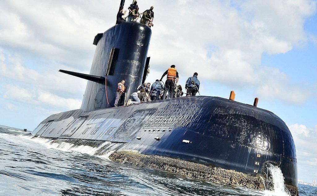 Detectan imagen de sonar compatible con el submarino — ARA San Juan