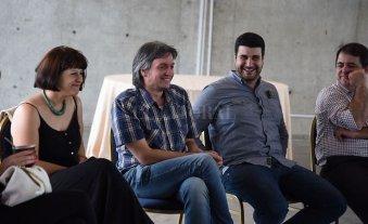 Marcos Cleri y Máximo Kirchner se reunieron con dirigentes sindicales, políticos y de organizaciones sociales