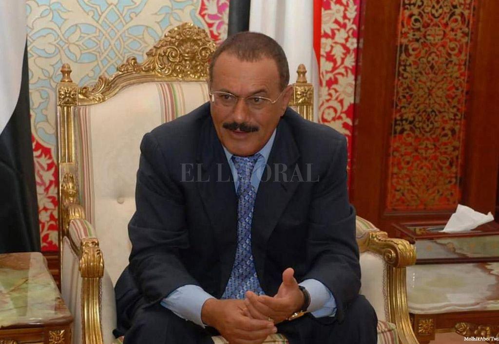 Ali Abdullah Saleh. Crédito: Internet