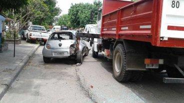 Siniestro fatal en barrio Escalante