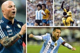 """""""Messi es superior a Maradona y a Pelé"""""""