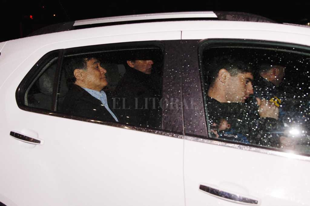 La Policía Federal llegó a la casa de Luis D'Elía para detenerlo