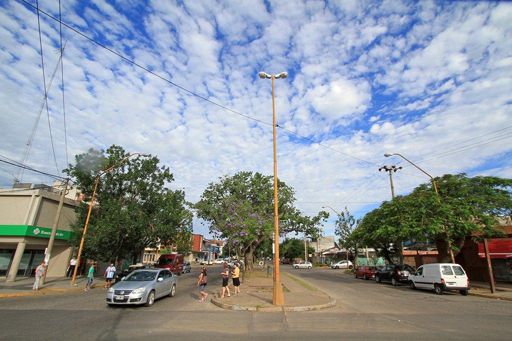 Así luce hoy la avenida del centro-norte de la ciudad. Crédito: Pablo Aguirre.