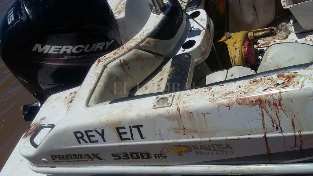 El hermano del futbolista protagonizó un incidente con una lancha en el río Paraná donde resultó gravemente herido y que todavía se investigan las circunstancias  <strong>Foto:</strong> Twitter Jose Luis Juarez