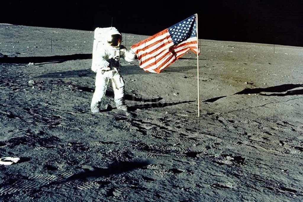 Imagen de la misión de Apollo 12 en 1969 Crédito: Archivo El Litoral