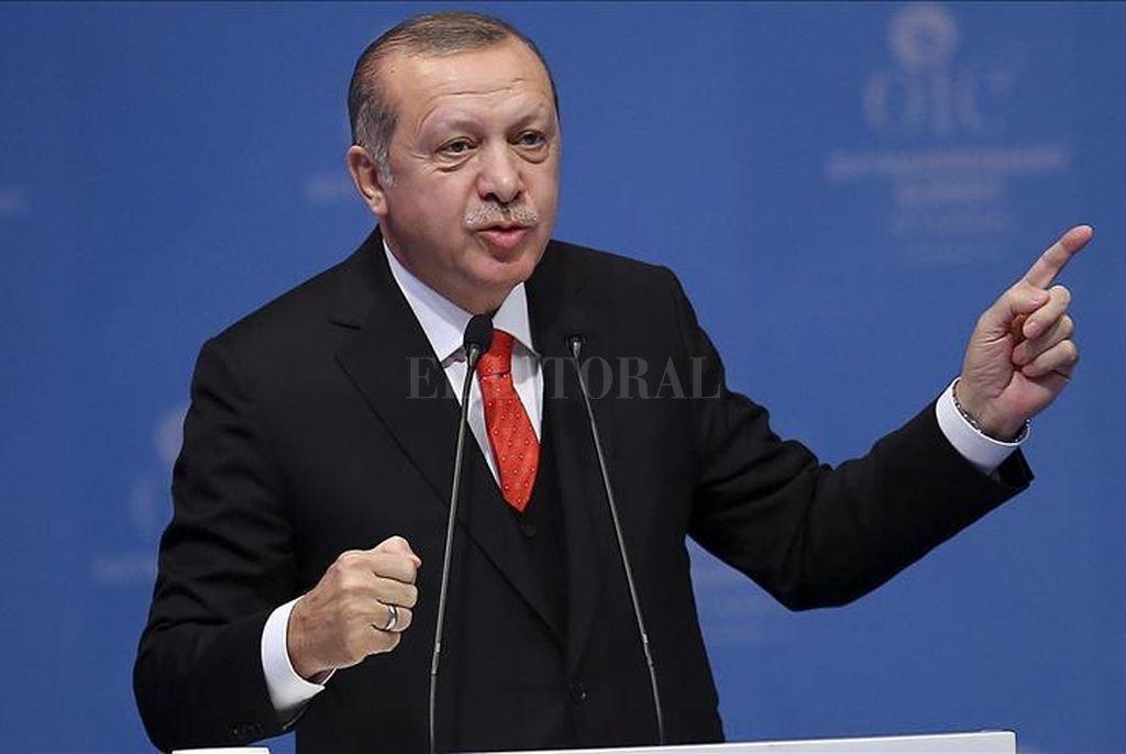 El presidente turco, Recep Tayyip Erdoğan. <strong>Foto:</strong> Anadolu Agency