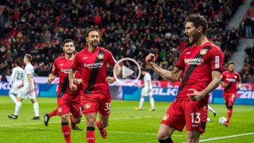 Video: Bayer Leverkusen ganó con gol de Alario
