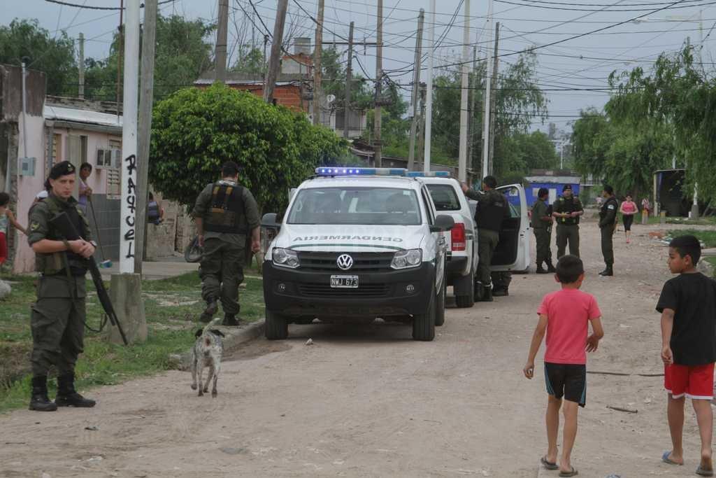 Gendarmería secuestró este martes un auto VW Vento que estaba en poder de Diego Martín Mustafá. Crédito: Archivo El Litoral / Luis Cetraro