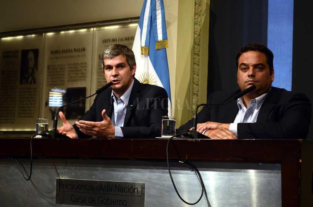 El decreto lleva la firma del presidente Macri y de los ministros Peña y Triaca Crédito: Archivo El Litoral