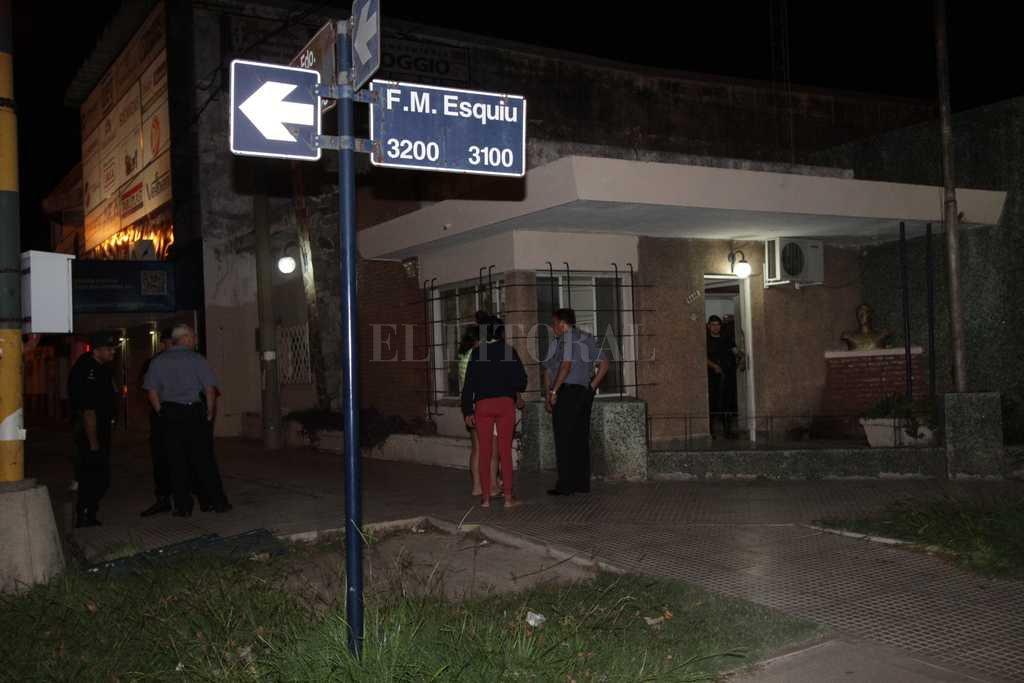 Personal de la Seccional 9na trabajó en el hecho <strong>Foto:</strong> Archivo El Litoral