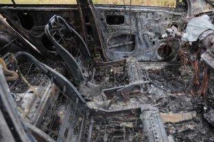Investigan el incendio de una camioneta en el norte de la ciudad