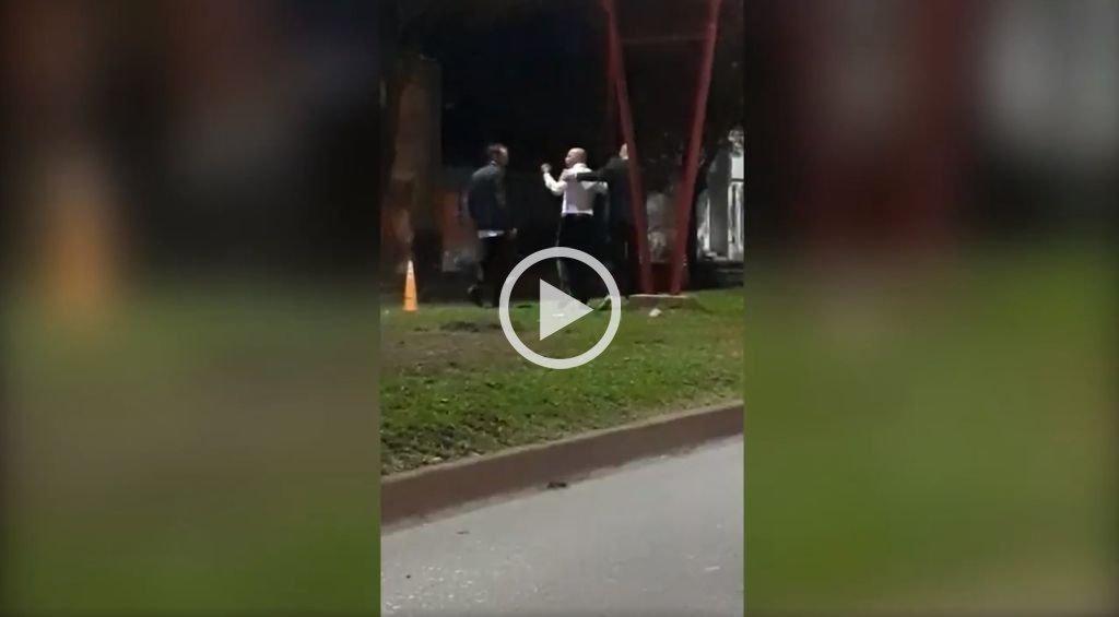 La agresión de Jorge Sampaoli a un policía en un control callejero