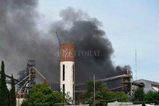 Tras la explosión en la planta, aceiteros lanzaron un paro de 48 horas