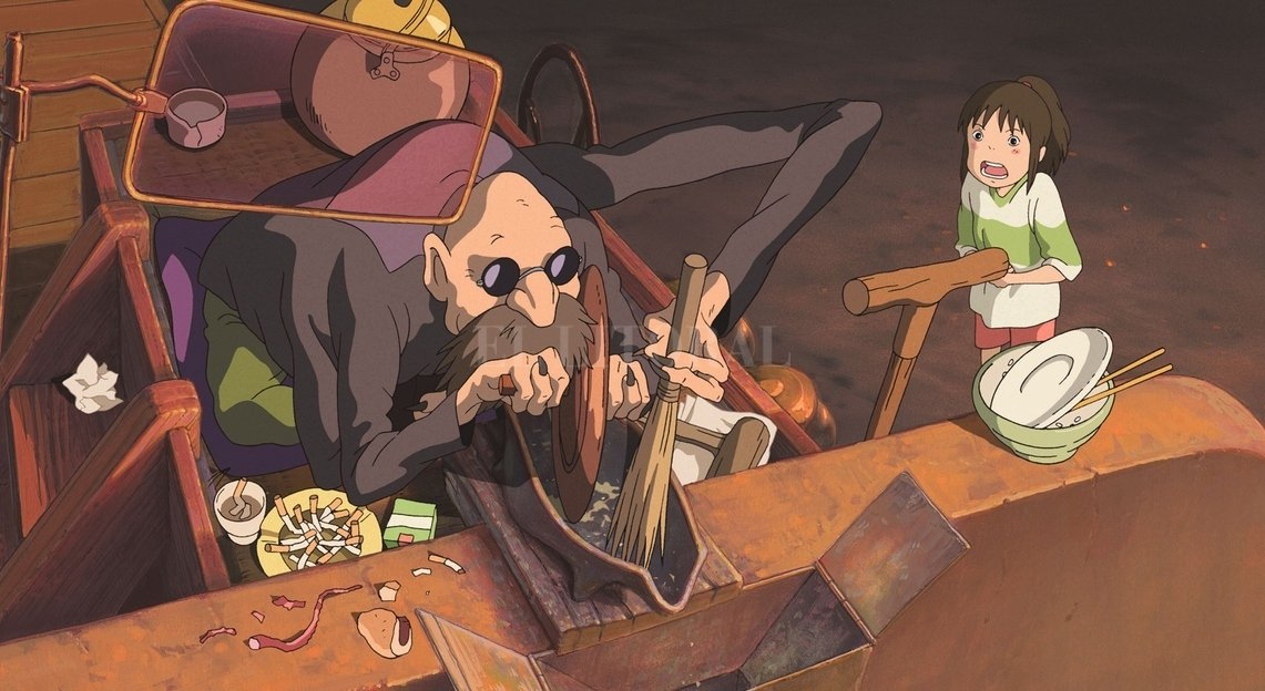 """""""El viaje de Chihiro"""", notable trabajo del japonés Hayao Miyazaki. Gentileza Toho"""
