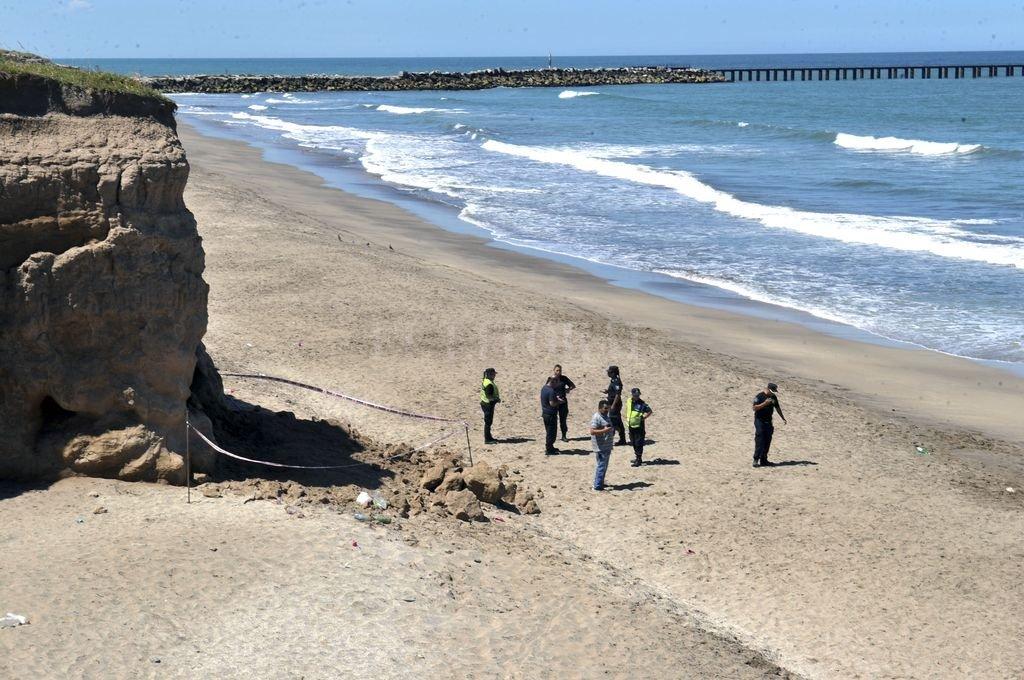 Tragedia en una playa marplatense