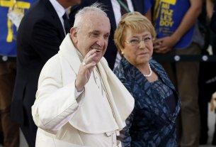 Francisco llegó a Chile