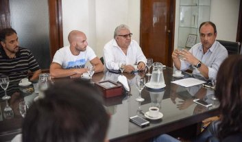 Casino: los sindicatos se reunieron con el intendente -