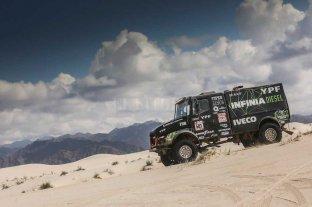 El cordobés Villagra lidera el Dakar de camiones