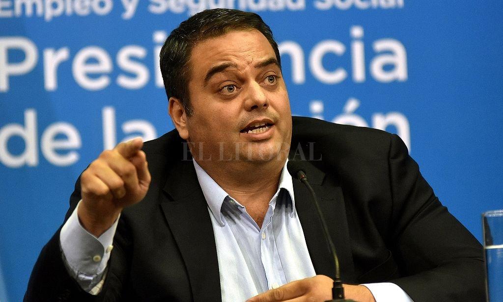 Jorge Triaca, ministro de Trabajo de la Nación. Crédito: Archivo El Litoral